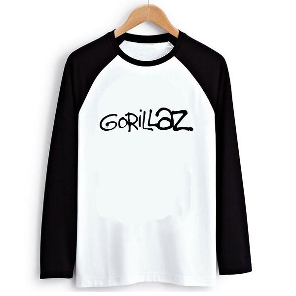 Raglan T-shirt 1 gorillaz 2