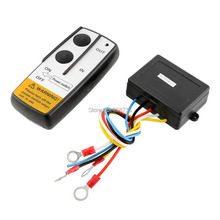 30PCS/LOT Black 10-30V Wireless Remote Control For Vehicle Car Truck Jeep ATV Electric Winch(China (Mainland))