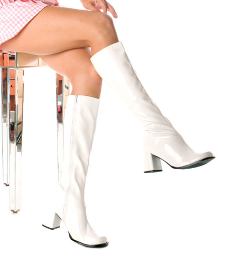 White boots to buy