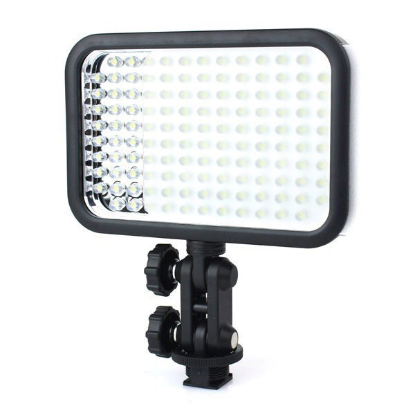 Godox LED126 Video Light Two Adjustable Shaft Three Kinds of Power Supply Removable Filter<br><br>Aliexpress