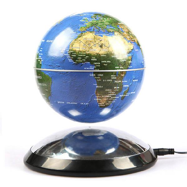 Freeshipping magnetic levitation floating globe world map - Maison du monde mappemonde ...