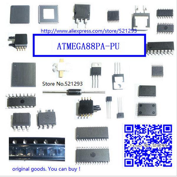FREE SHIPPING 5piece ATMEGA88PA-PU DIP ATMEL MEGA88PA DIP28 Programmable Flash(China (Mainland))