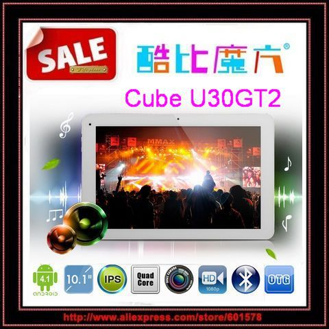 Cube U30GT2 RK3188 Quad Core 1.8GHz 10.1 inch FHD IPS Retina Screen 2GB 32GB HDMI Bluetooth Camera 5.0MP /Jessie(Hong Kong)