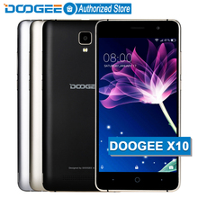 Buy Stock Now DOOGEE X10 mobile phones 5.0Inch IPS 8GB Android6.0 smart phone Dual SIM MTK6570 5.0MP 3360mAH WCDMA GSM cellphone for $46.04 in AliExpress store