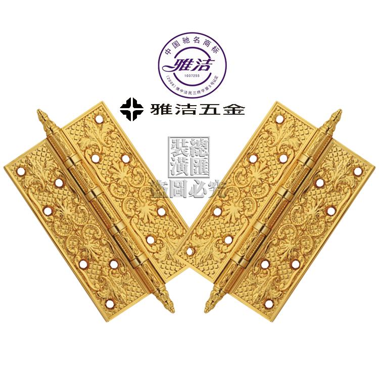 [copper / Bronze Yajie hinge hinge /24K gold copper hinge AW4292-6x4X4-2BB-02<br><br>Aliexpress