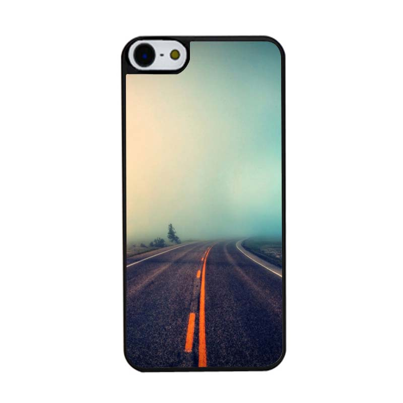 Country Road Fog Popular Hard Skin Bag Case for iPhone4s 5s 5c 6plus 6 6S(China (Mainland))