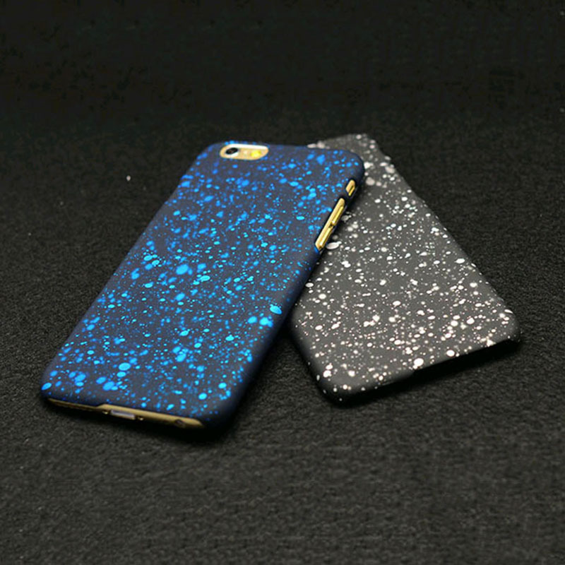New Style 3D Cover Three-dimensional Stars Ultra thin Frosted Phone Cases iPhone 5 5s SE 6 6s 7 Plus Matte Case - Corcossi Science & Technology CO., LTD store