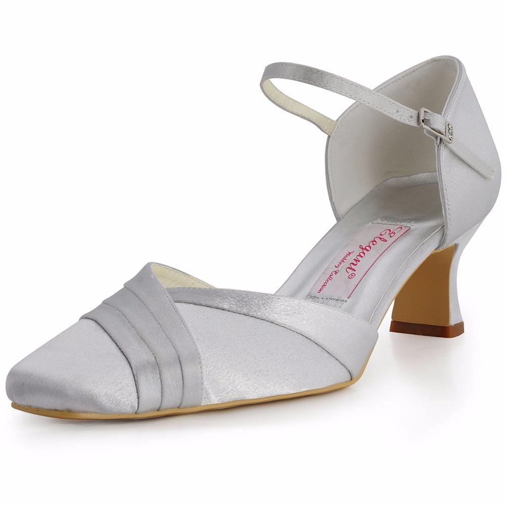 Silver Wedding High Heels