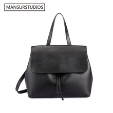 Mansur Gavriel classics shouder bag women genuine leather lady bag ,lady real leather hand bag,free shipping(China (Mainland))