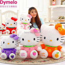 Hot sale 36cm Hellokitty doll HELLO KITTY plush toy kt cat fruit dolls for girls bithday gift 1pcs(China (Mainland))