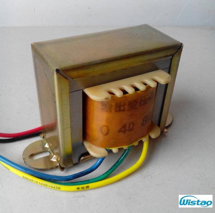 Tube Amplifier Output Transformer 5W Z11 Single-ended Silicon Steel EI Transformers Power Audio HIFI DIY Free Shipping(China (Mainland))