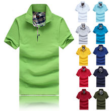Summer Men's Casual Polo Shirts Cotton short sleeve Man Solid Slim Polo Tees New Brand Male Golf Sports Shirts Tops Clothes