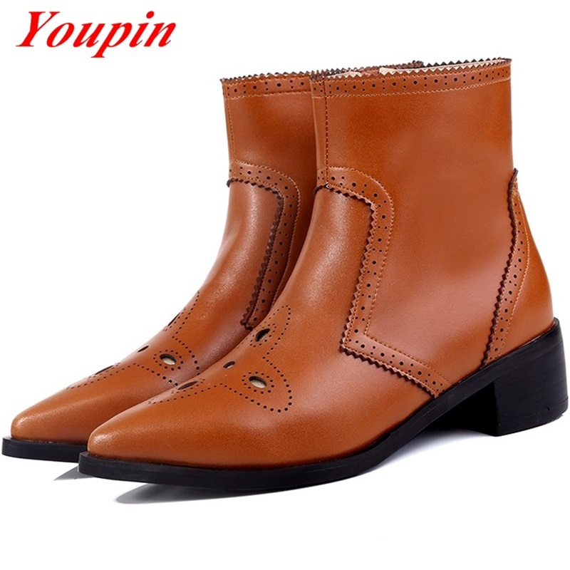 Knight boots hollow out duantong womens boots new 2015 autumn winter latest fashion real leather boots with zipper Knight boots<br><br>Aliexpress