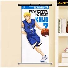 45X95CM Kuroko no Basuke Basketball Kise Ryouta sports Anime Cartoon scroll wall picture mural poster art cloth canvas painting