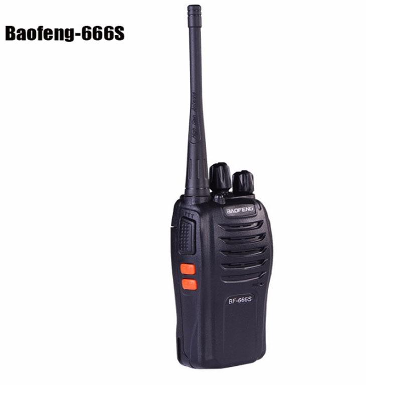 2015 Hot Portable radio BF-666S two way radio walkie talkie Baofeng 5W 400 - 470 MHz 1500/3300mAH Battery(China (Mainland))