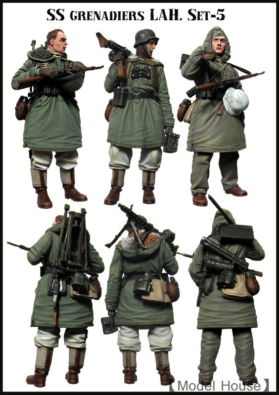 Resin Models 1/35 Winter German Resin Soldier Free Shipping 3pcs/set<br><br>Aliexpress