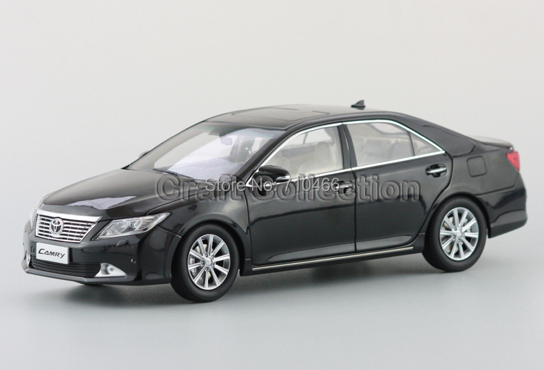 Black Toyota Camry 1:18 7th Generation Diecast Toy  Metal Miniature Model Car Kits<br><br>Aliexpress