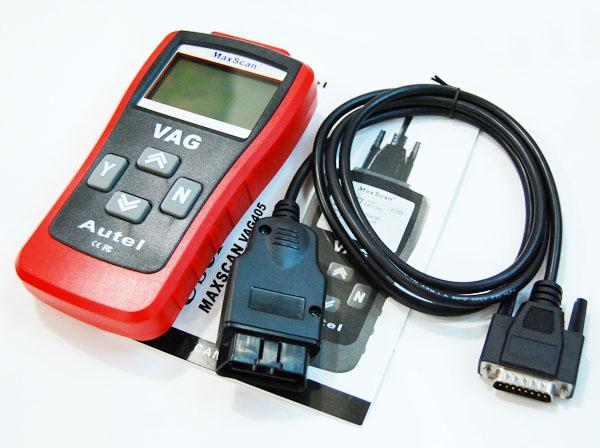 Vag MaxScan VAG405 Can Bus Car Diagnostic Code Reader OBD2 EOBD for VW Audi(China (Mainland))