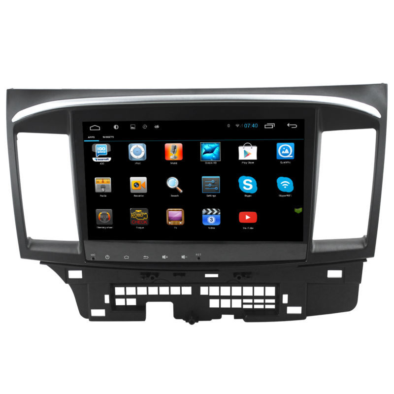 "10.2"" HD 1024*600 screen Android 4.2 Car DVD GPS for Mitsubishi Lancer with FM AM A9 chipset Dual core 3G Wifi OBD Multimedia(China (Mainland))"