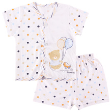 The Newborn Baby Clothes Underwear Suits Summer Clothes Thin Short Sleeve Shorts Pajamas(China (Mainland))