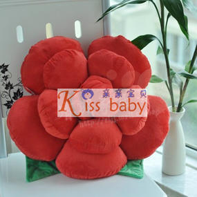 Rose pillow birthday gift car accessories new year gift wedding gifts