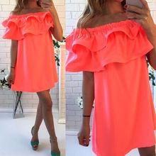 Mujeres atractivas del verano sin mangas del partido de coctel cortos Mini vestido de la playa