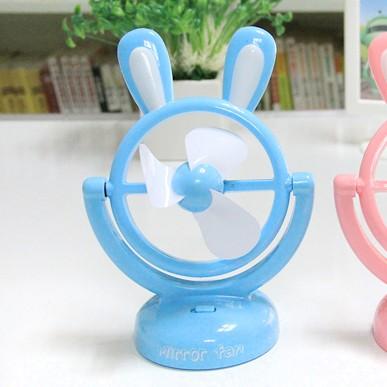 Fashion cartoon animal fan silent mini fan usb battery 2 fan(China (Mainland))