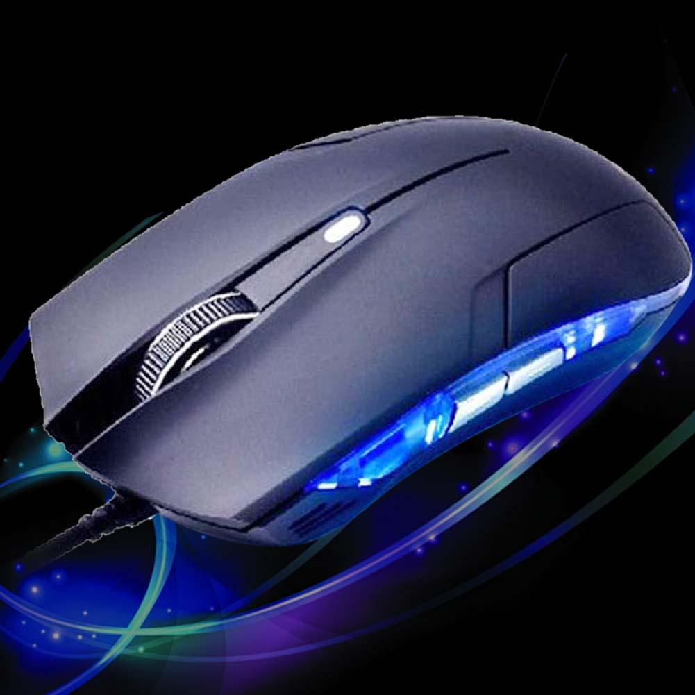 1600 DPI Adjustable Optical USB Wired Gaming Mouse Gamer Games For PC Laptops wireless keyboard and mouse mouse wireless SNS(China (Mainland))