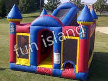 Popular CE blower kids jumper cheap inflatable castle(China (Mainland))