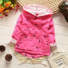 Верхняя одежда Пальто и  от JOMAKE Kids Clothes Store для Девочки, материал Хлопок артикул 32311560475