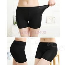 1 шт. женские танцевальные мужские короткие леггинсы спандекс эластичные штаны безопасное нижнее белье(China)