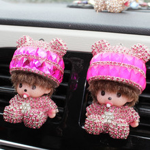 Diamond Monchhchi  Car outlet perfume Car decoration Air conditioning perfume Pendant Ointment(China (Mainland))