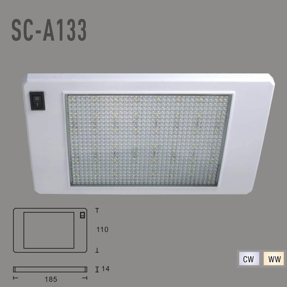 IP20 5W DC12V LED Ceiling Lights 3PCS SMD 5050 Foyer Lihgting LED Kitchen Lihgting( WW,CW)(China (Mainland))