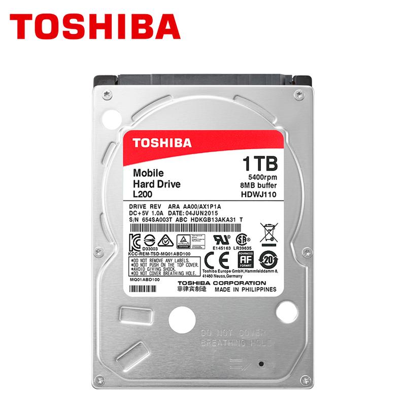 "TOSHIBA Notebook 1TB Hard Drive Disk 1000GB 1000G Internal Laprop HDD HD 2.5"" 5400RPM 8M SATA3 Original New(China (Mainland))"