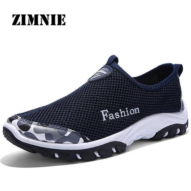 2016 мода мужская обувь воздухопроницаемой сеткой марка открытый прогулки супер свет ...
