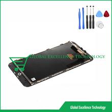 Черный для meizu m1 примечание жк-дисплей + сенсорный экран планшета с рамой + инструмент