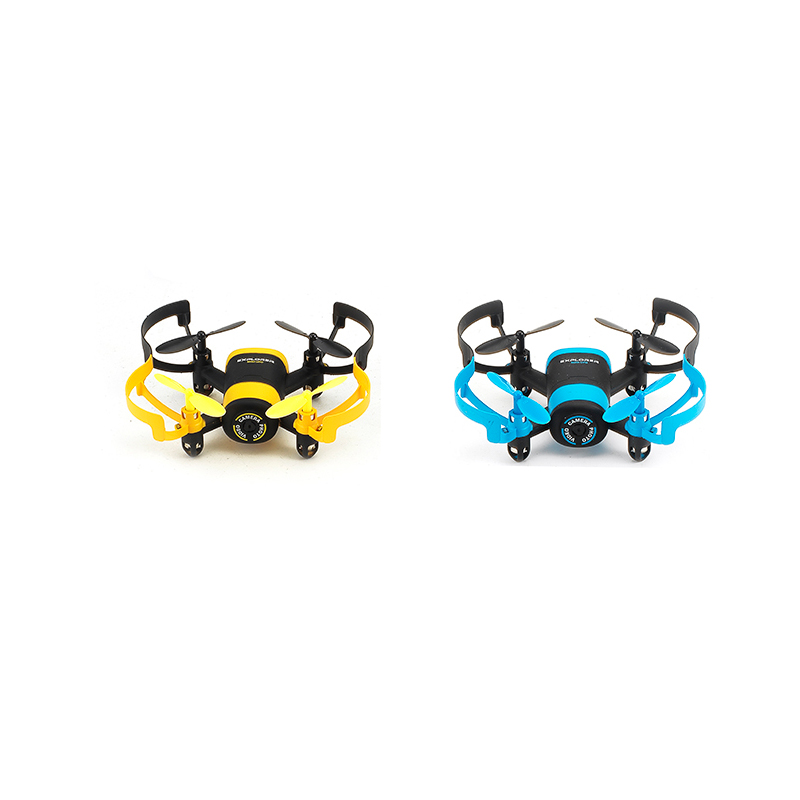 JXD 512W Quadcopter Mini Drone with WiFI Live Camera VGA Flying Saucer 2.4G Rc Helicopter Headless Real-time transmission Toy