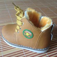 Size 21 30 New 2015 Spring Autumn Warm Ankle Kids Boots Fashion Plus Velvet Boys Girls