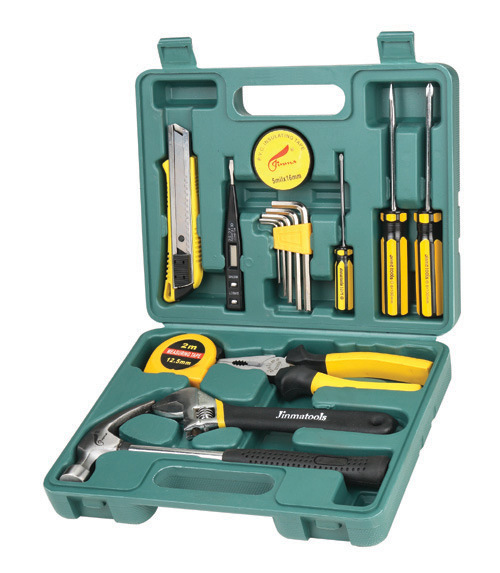 Buy 16 Piece Set toolbox bank insurance car gift tool set car dual-purpose combined tool box cheap