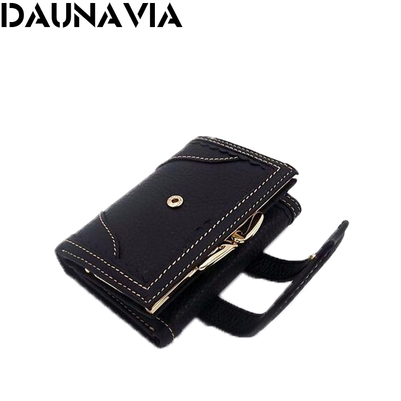 New 2016 women wallet famous brand Genuine leather female wallets 3 fold purse women 's Clutches clutch carteira(China (Mainland))