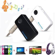 Мини Bluetooth передатчик 3.5 мм StereoAudio микрофон Bluetooth A2DP и AVRCP MusicTransmitter адаптер для тв DVD MP3 л . и . аккумулятор