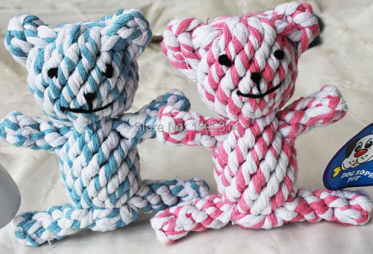 FREE SHIPPING! Pet toy pet dog toys animal cotton rope toy single(China (Mainland))