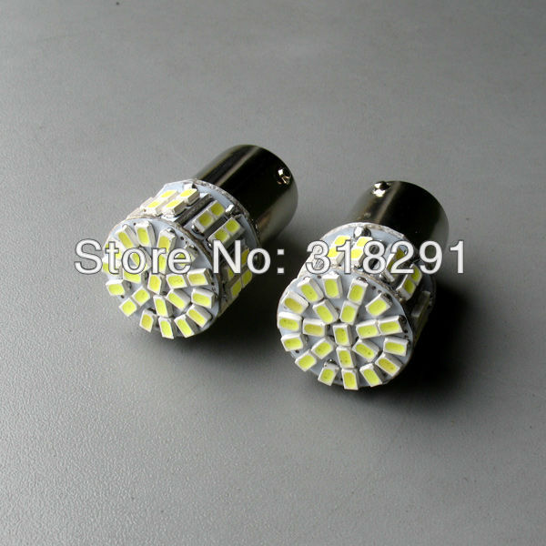 the best quality high brightness Free shipping LED  -2528 1206  50 SMD car   turn brake signal  light 1156 1157  ba15s bulb
