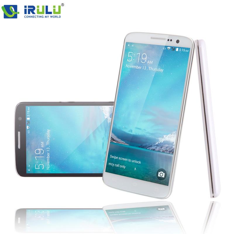 """Irulu u2 smartphone 5.0 """"mtk6582 android 4.4 telefoni quad core 8 gb dual sim qhd lcd 13mp cam frequenza cardiaca funzione del sensore di luce calda(China (Mainland))"""