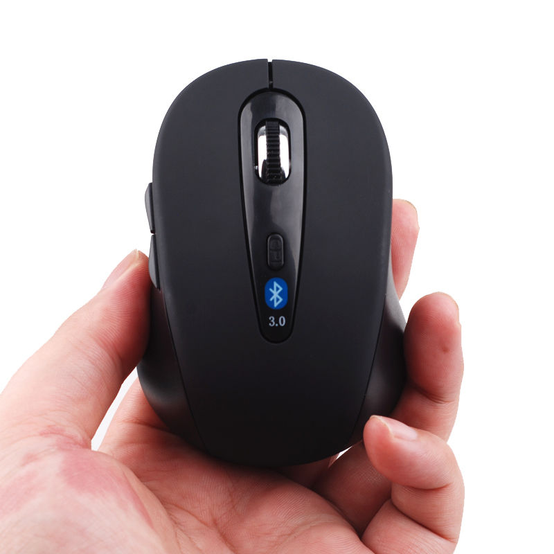 Wireless Mini Bluetooth 3.0 Optic 1600 DPI Mouse Black for Android Tablet Win10(China (Mainland))