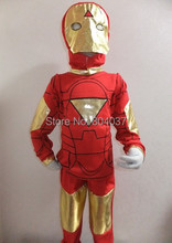 Boy Iron Man Costume Halloween Costume For Kids Disfraces Carnaval Marvel's The Avengers Costume Anime Cosplay