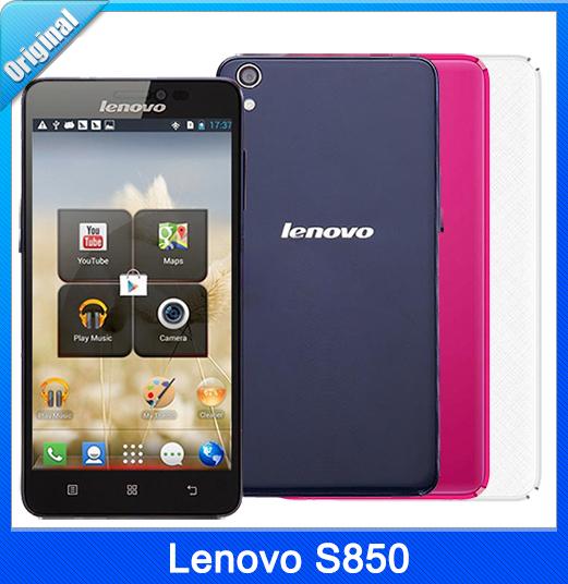 "5.0"" Original Lenovo S850 IPS 1280*720 1G RAM 16G ROM 5.0/13.0MP Cam 2100mAh MTK6582 Quad Core WCDMA 3G Phone(China (Mainland))"