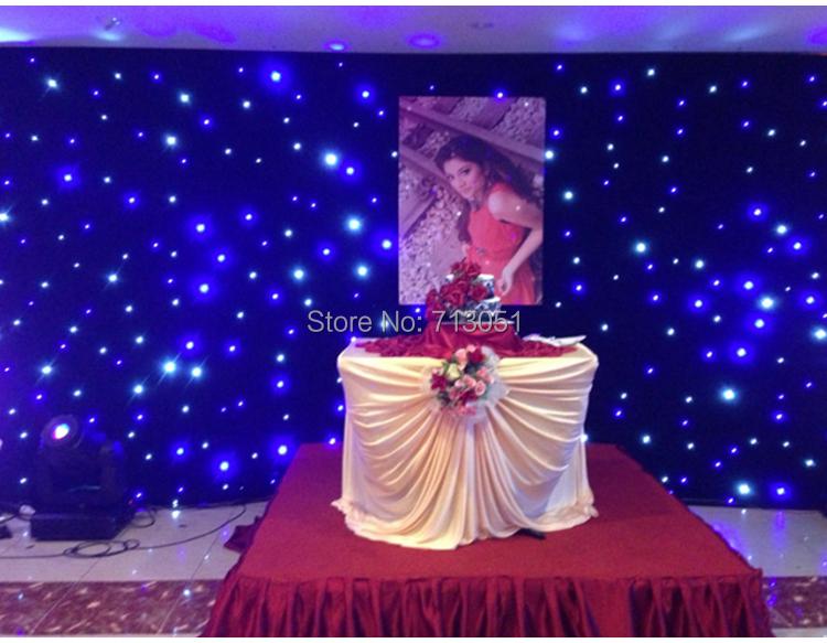 BW led star curtain (10)