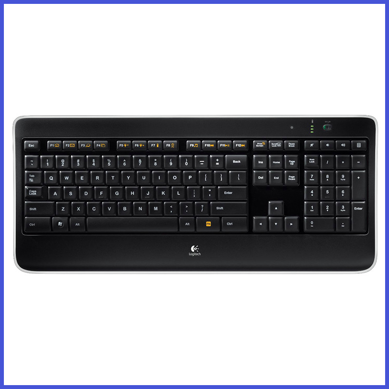 100% Original Genuine High-quality Logitech K800 Wireless backlit keyboard 2.4G Unifying Receiver(China (Mainland))