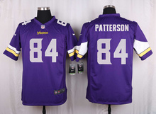 100% Elite men Minnesota Vikings women kids youth free shipping wholesale 84 Cordarrelle Patterson(China (Mainland))